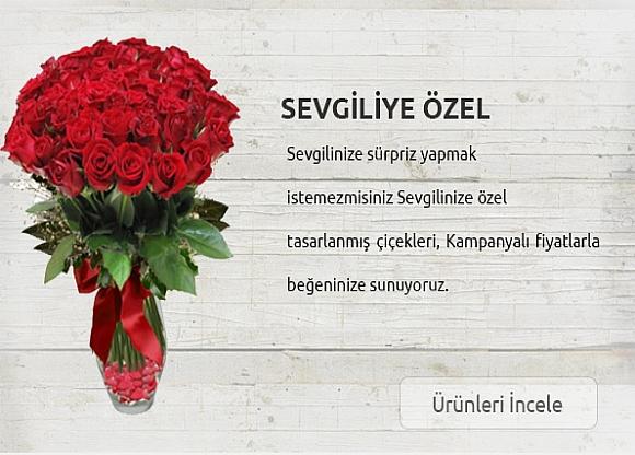 Sevgililer gününe özel çiçek